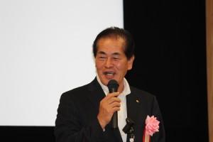 来賓挨拶 梅沢副市長 ご公務でお忙しいところありがとうございました。