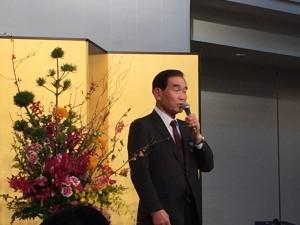 代表理事の吉野代表理事からご挨拶です