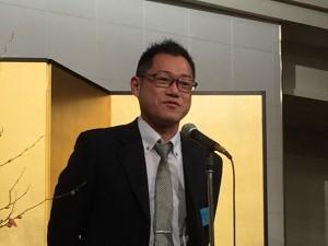 相文会余興の挨拶として相文会笹井会長から一言をいただきました。