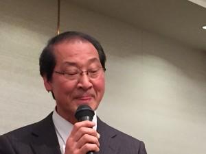 佐藤監事より取引先紹介をしていただきました。