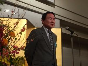 亀山専務理事から閉会のことばをいただき、賀詞交歓会は閉会いたしました。
