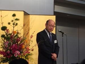 ご来賓の取引先代表としてコクヨマーケティング株式会社 関東支社長飯塚様からのご挨拶を頂きました。