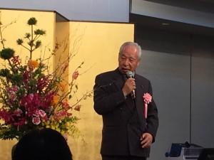 ご来賓の神奈川県事務用品団体連合会(神文連)野中会長よりご挨拶を頂きました。