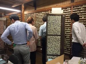 三文判ハンコの貯蔵倉庫です。