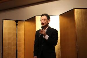 来賓挨拶は相模原商工会議所の山崎理事よりいただきました。