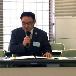 亀山理事より、議案の提出