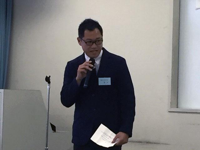 役員選出 笹井選挙管理委員長