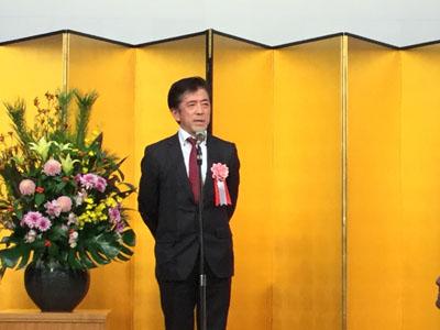 神奈川県文具事務用品団体連合会 会長 廣澤一雄様からのご挨拶