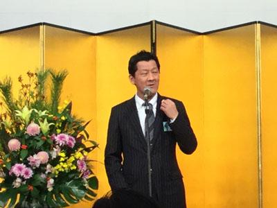 浦上代表理事の挨拶