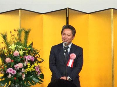 神奈川県中小企業団体中央会組織支援部部長 鎮野政孝様 乾杯