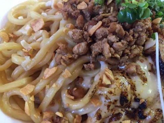 極カレー坦々麺UP
