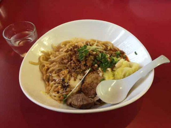 極カレー坦々麺1
